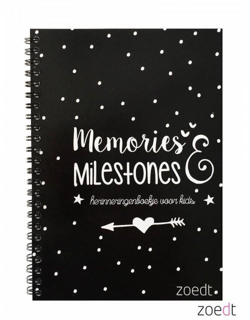 Zoedt Memories en milestones herinneringenboekje