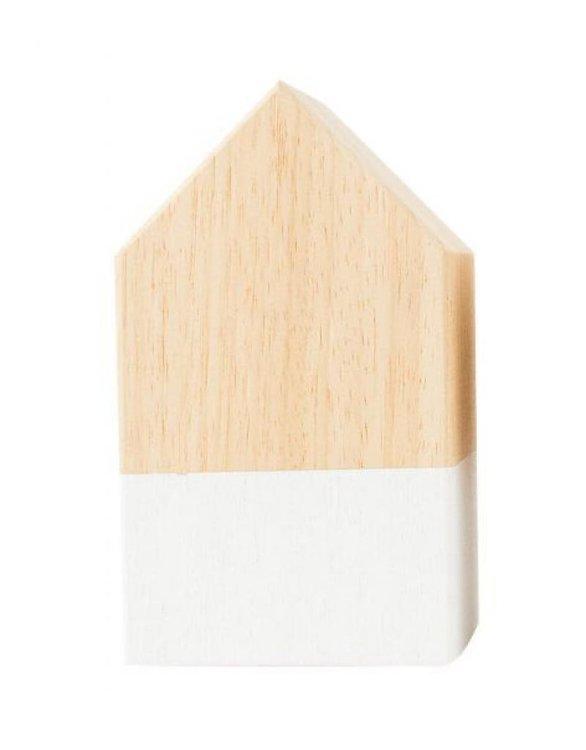 Zoedt houten huisje hout wit