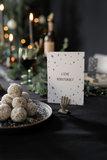 Zusss kerstkaarten in houten doosje