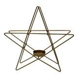 Kandelaar gouden ster M