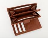 Bag2Bag portemonnee Madrid cognac