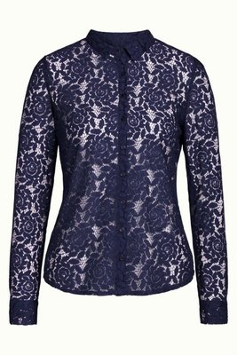 King Louie Rosie Blouse Damask