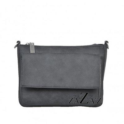 Schoudertas Zaza's 01 135 grey