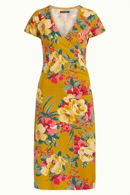King Louie Cross Dress Lavish Spice Yellow