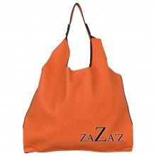 Bag in bag schoudertas 13 1068 orange
