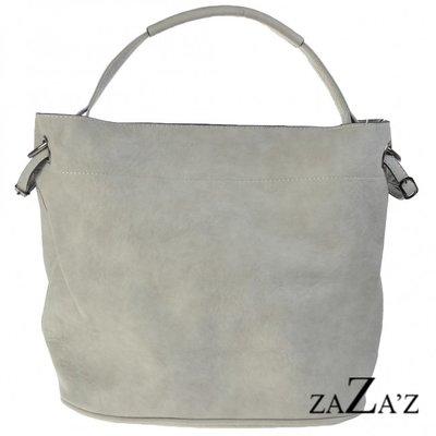 Bag in bag schoudertas 12 1083 lightgrey