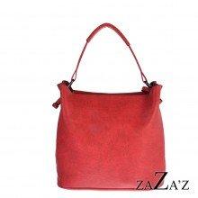 Bag in bag schoudertas 12 1083 red