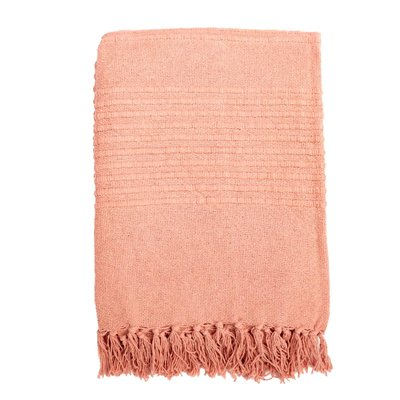 Plaid Rosie pink 130x170