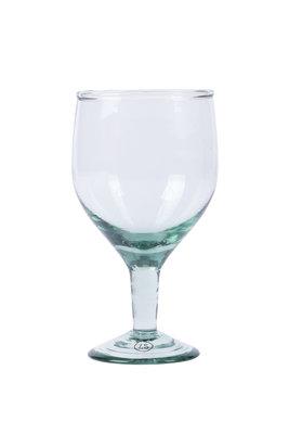 Zusss wijnglas gerecylcled glas