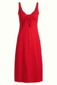 King Louie gisele dress little dots red