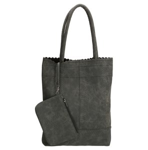 Shopper Corbera dark grey