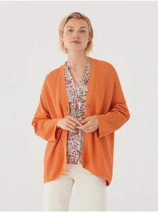 Oversized vest orange