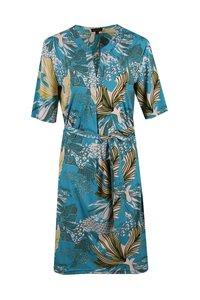 G-Maxx jurk turquoise 19VYX112-6466